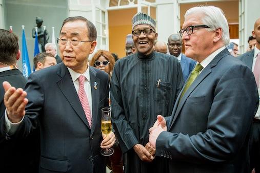 Pres Buhari at G7