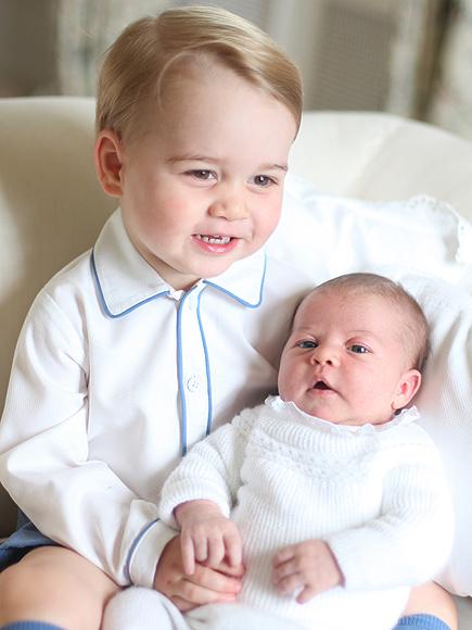Prince George & Princess Charlotte - 02