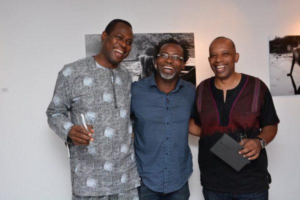 [L-R] Sanya Soyanwa, Kelechi Amadi-Obi & Miguel Enwerem