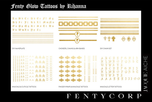 Rihanna Flash Tattoos Collection - BellaNaija - June2015004