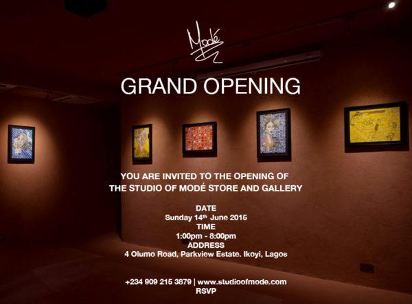 Studio of Mode E-Invitation