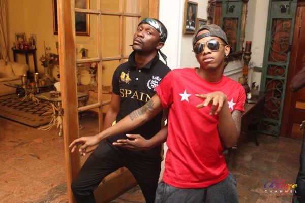Superstar_Ushbebe_Tekno_Miles_on_set