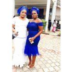 Taje Prest and Waje at Osas and Gbenro Ajibade's Traditional Wedding