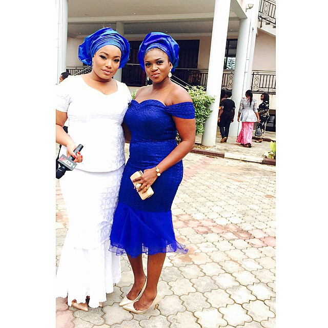 Taje Prest and Waje at Osas and Gbenro Ajibade's Traditional Wedding