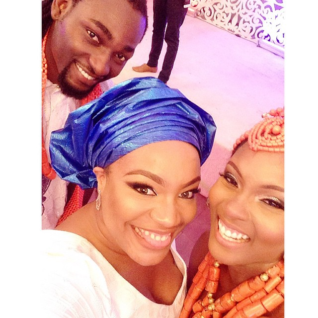 Taje Prest at Osas and Gbenro Ajibade's Traditional Wedding 2