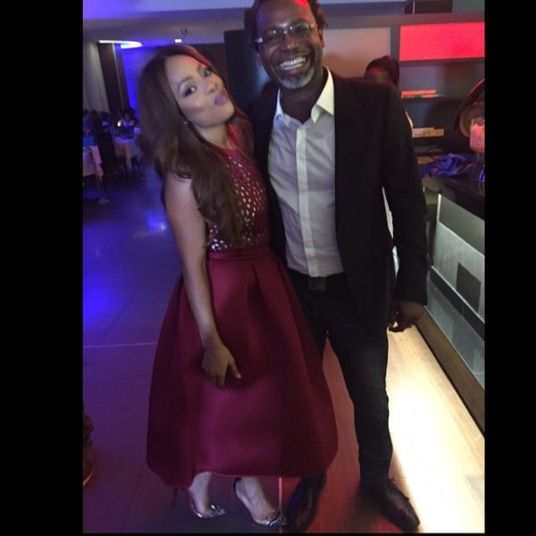 Toke Makinwa & Kelechi Amadi Obi