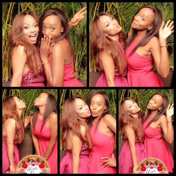 Toke Makinwa & Michelle Dede