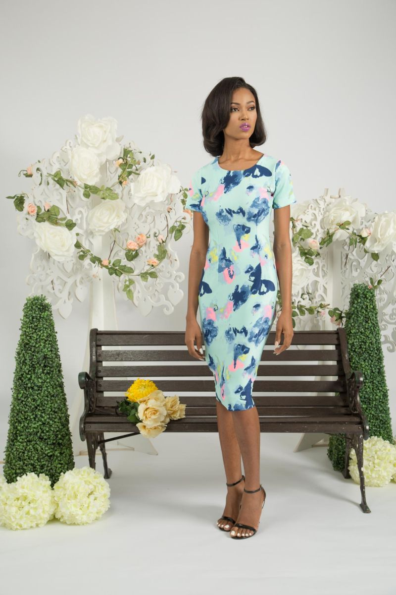 Yeside Laguda My Q Blossom Collection Lookbook - Bellanaija - June2015001