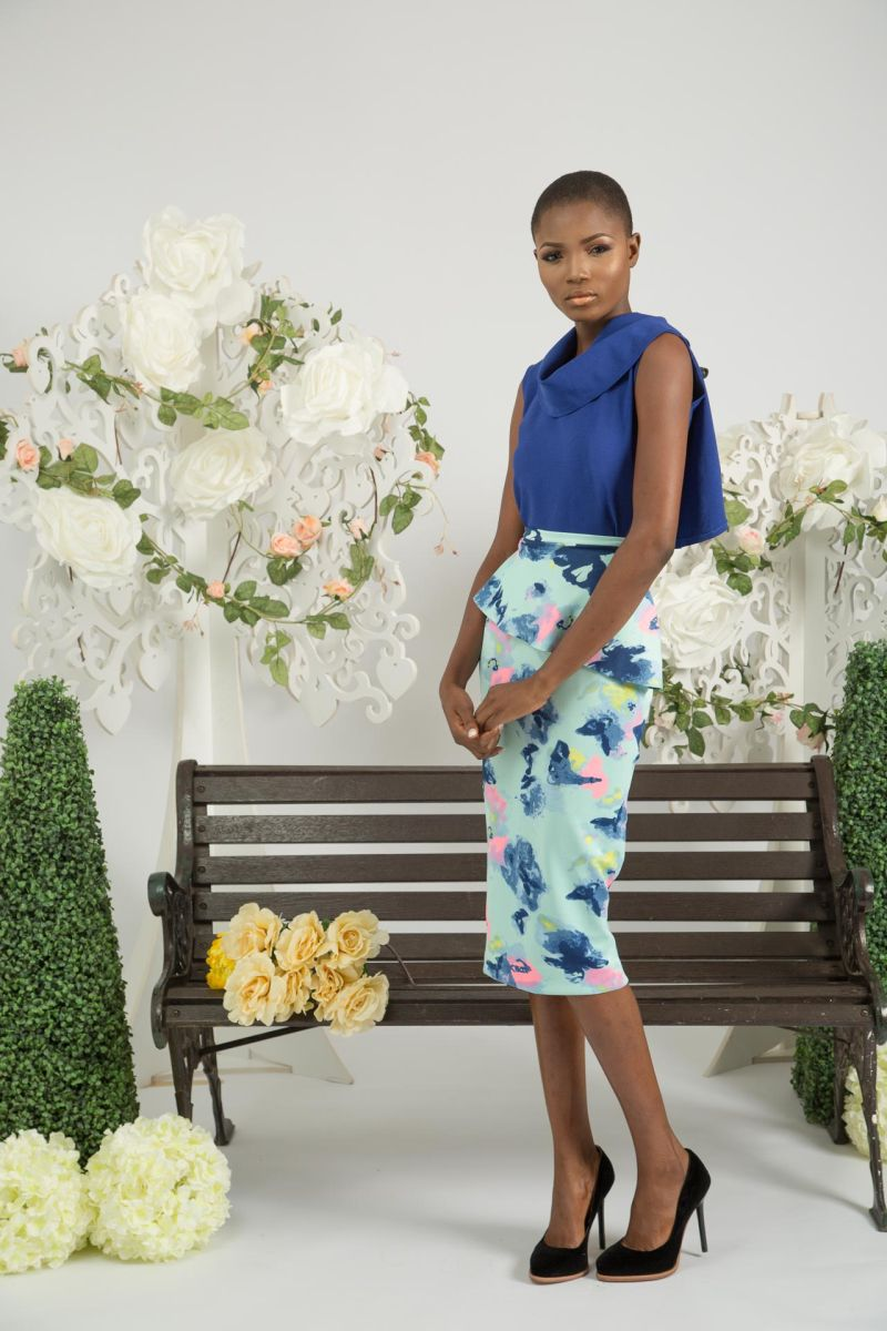 Yeside Laguda My Q Blossom Collection Lookbook - Bellanaija - June2015002