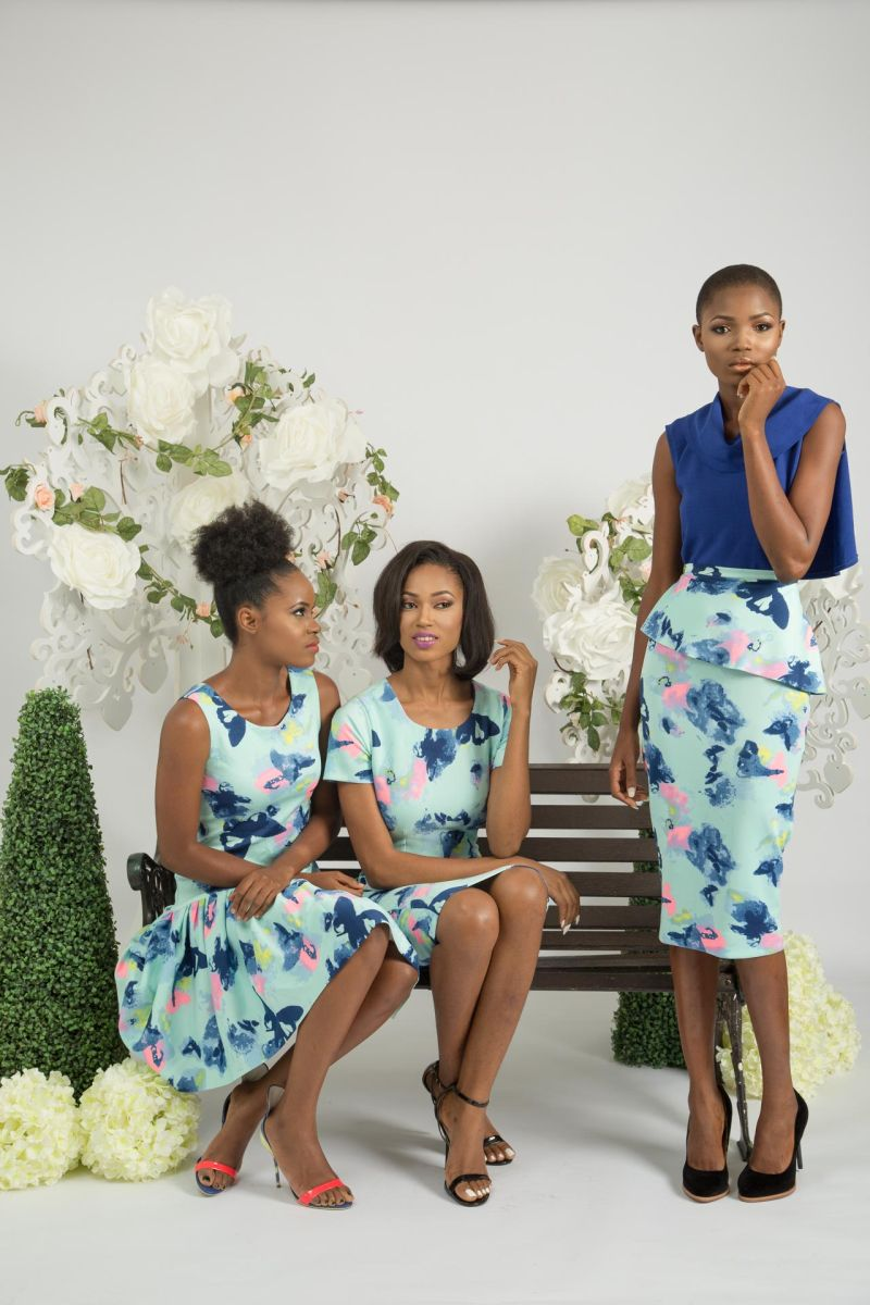 Yeside Laguda My Q Blossom Collection Lookbook - Bellanaija - June2015003