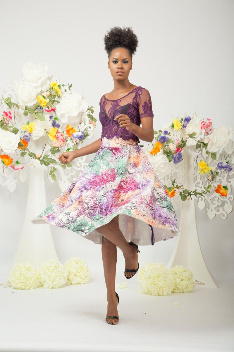 Yeside Laguda My Q Blossom Collection Lookbook - Bellanaija - June2015007
