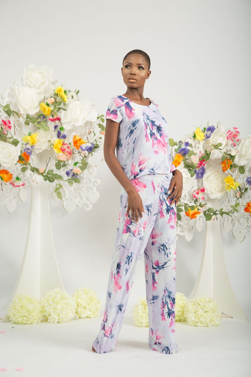 Yeside Laguda My Q Blossom Collection Lookbook - Bellanaija - June2015010