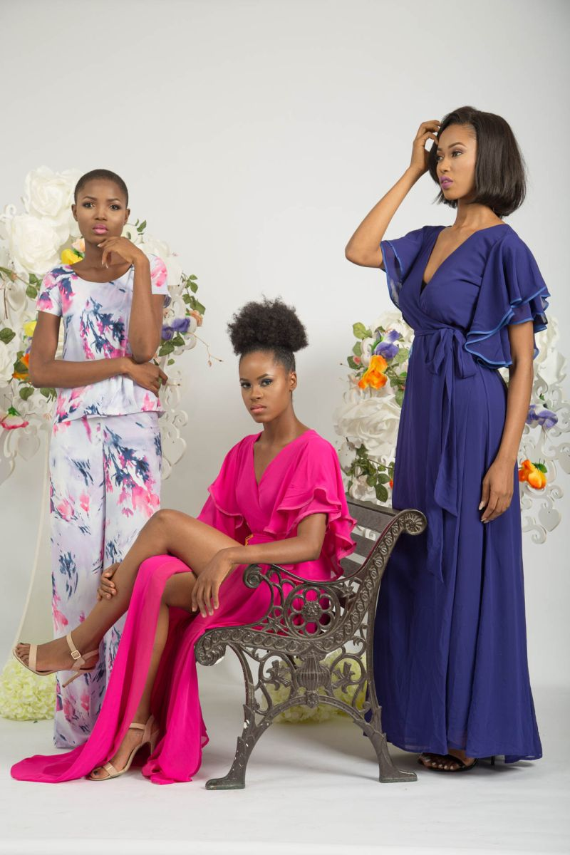Yeside Laguda My Q Blossom Collection Lookbook - Bellanaija - June2015011