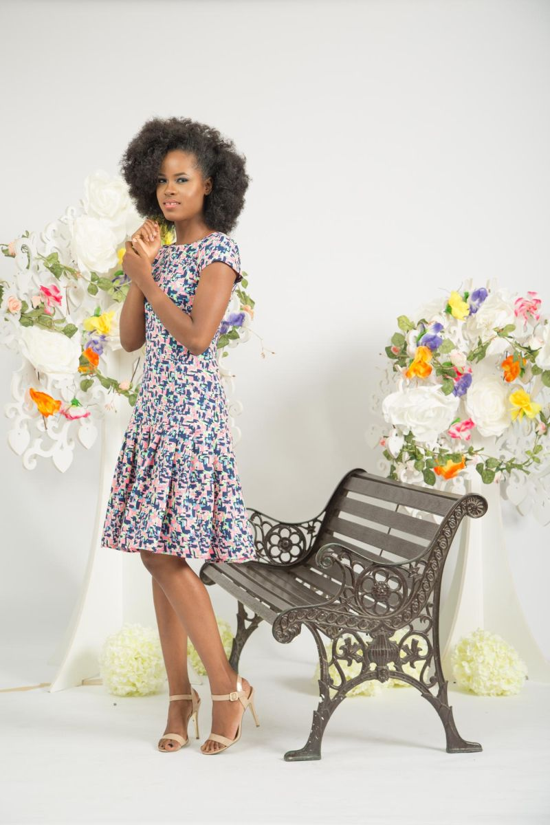 Yeside Laguda My Q Blossom Collection Lookbook - Bellanaija - June2015013