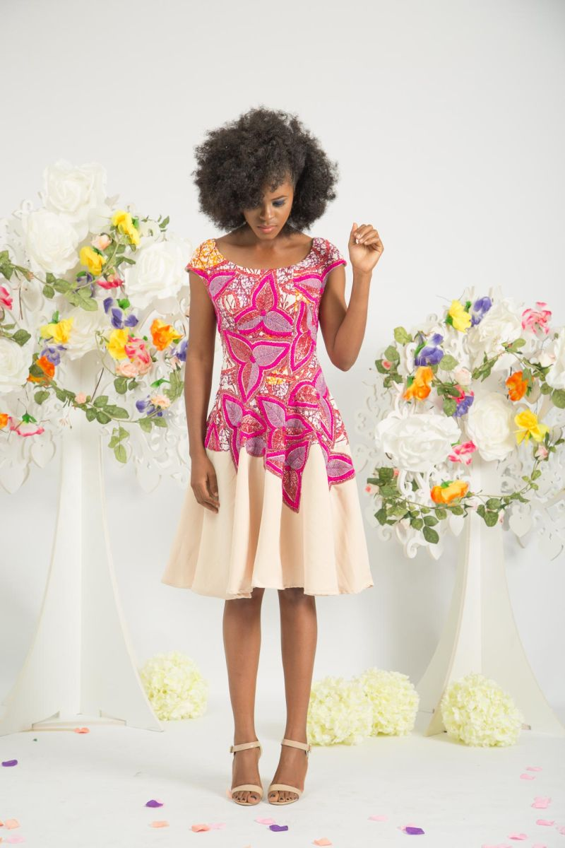 Yeside Laguda My Q Blossom Collection Lookbook - Bellanaija - June2015014