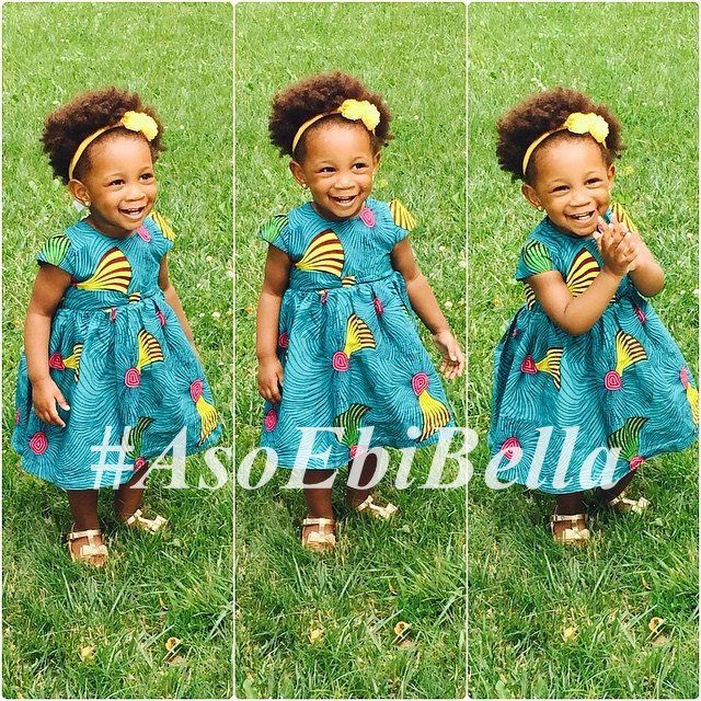 @TeniBella | Dress by @beaubelle_africa