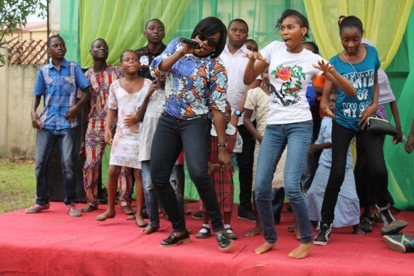 funke-akindele-dances-with-CAL-Beneficiaries