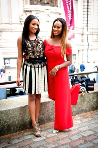 DJ Cuppy and Temi Otedola