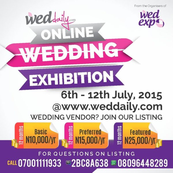 online wedding exhibition