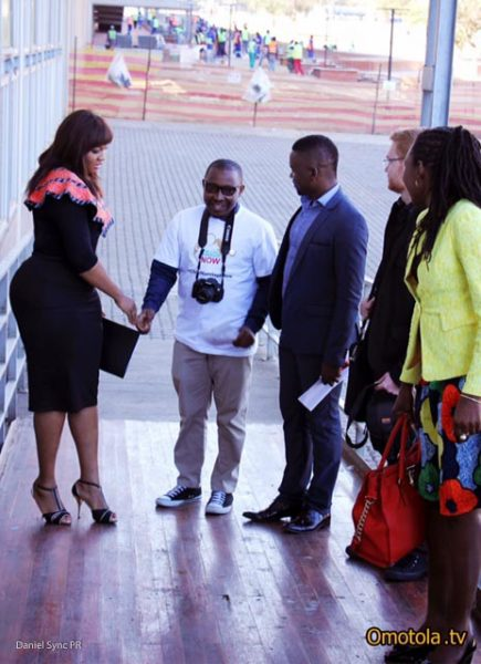 photo 2 Omotola attends the African Union Summit_SA