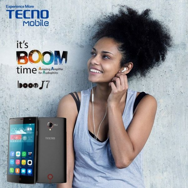 tecno boom J7 refresh your ears
