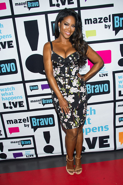 WATCH WHAT HAPPENS LIVE -- Pictured: Kenya Moore -- (Photo by: Charles Sykes/Bravo/NBCU Photo Bank via Getty Images)