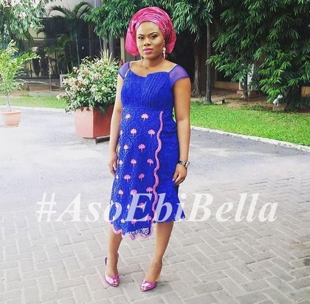 @amarelisbylara | Dress by @asoebiguru