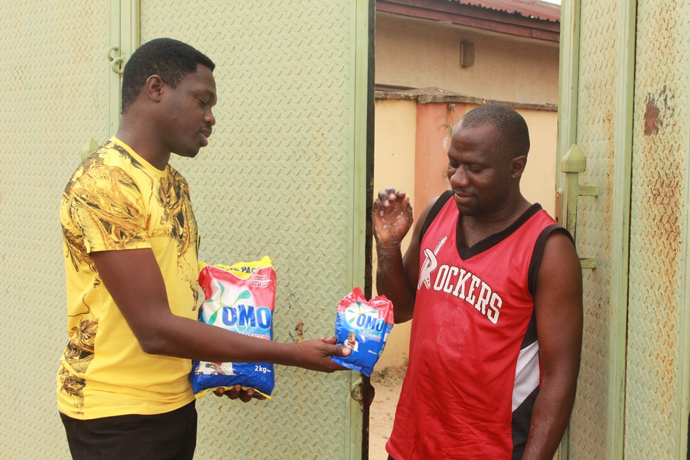 Umrah Banner: Omo Goes To Abuja! Premium Detergent Conquers Capital