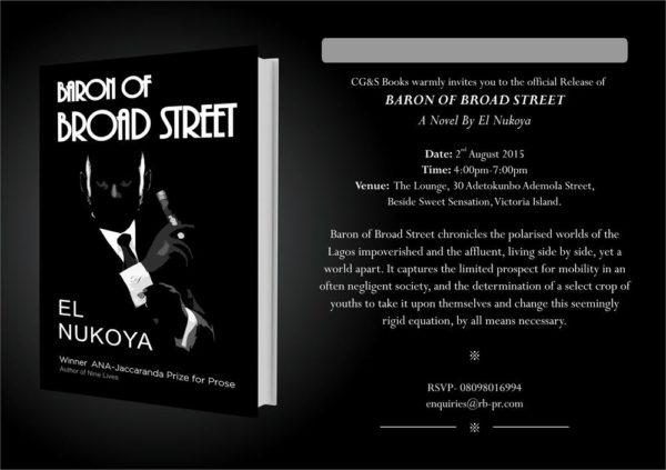 BARON OF BROAD STREET - E INVITE