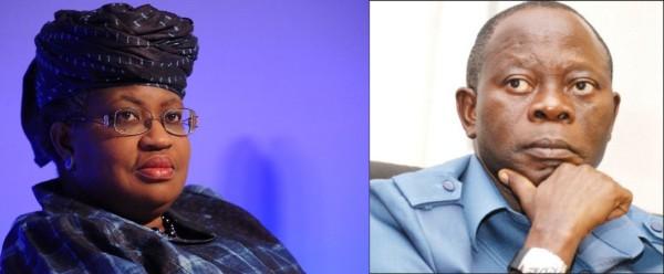 Adams Oshiomhole Accuses Okonjo-Iweala of Spending $1 ...