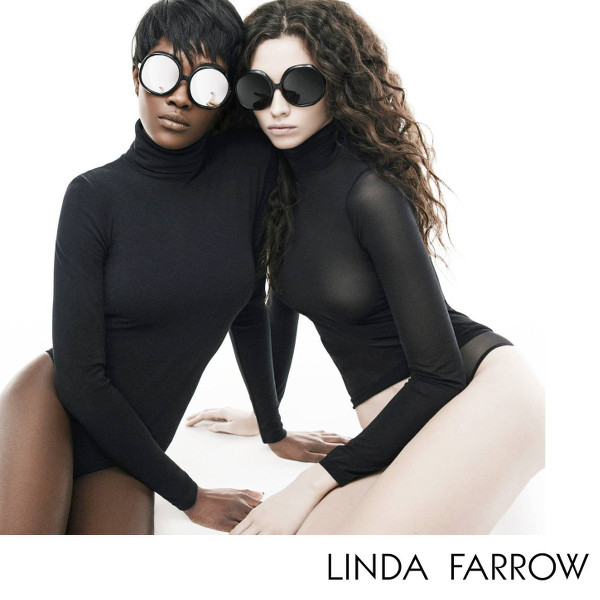 Betty Adewole and Nichole Martinez for Linda Farrow AW2015 - BellaNaija - July2015