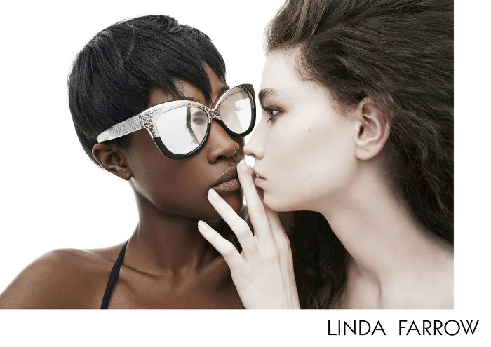 Betty Adewole and Nichole Martinez for Linda Farrow AW2015 - BellaNaija - July2015002