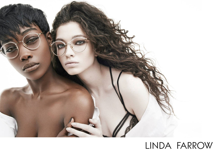 Betty Adewole and Nichole Martinez for Linda Farrow AW2015 - BellaNaija - July2015004