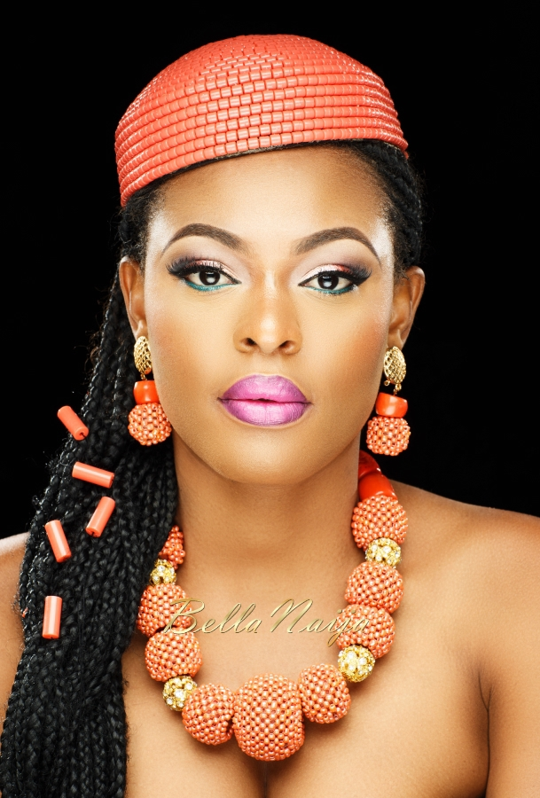 Bridal Makeup For Black Hair : Our Beauty is Our Crown! Ezinne Akudo and More Belles in ...