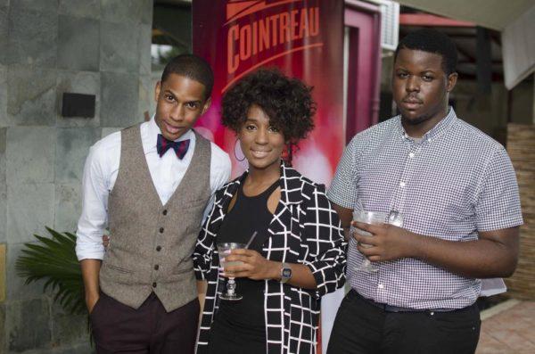 [L-R] Denola Grey, Bubu Ogisi & Myles Igwe