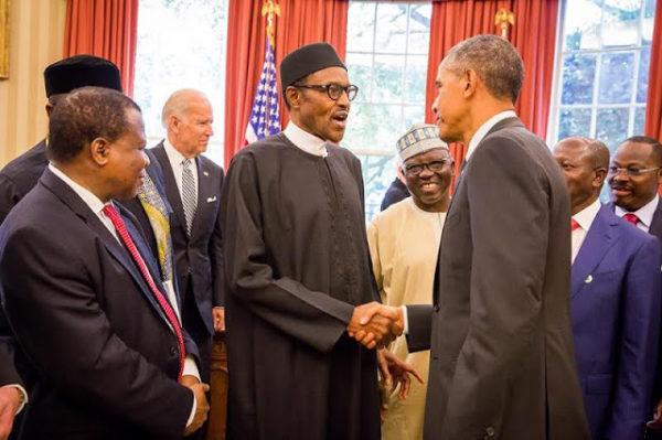 Buhari Meets Obama1