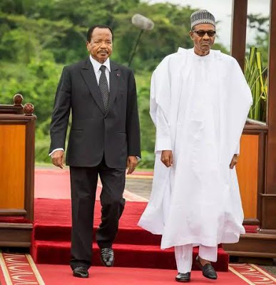 Buhari and Biya BellaNaija