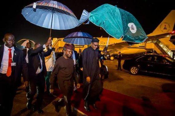 Buhari back 2