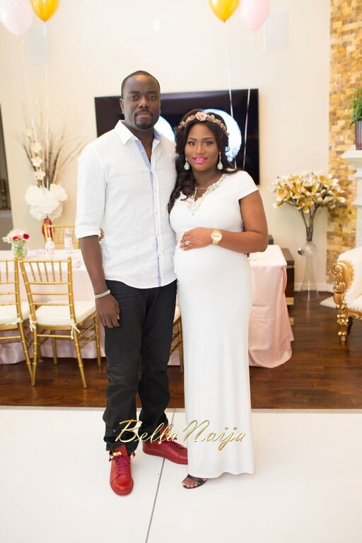 Chisom Chete S Baby Shower For Kayla Nwoko Pink And Gold In