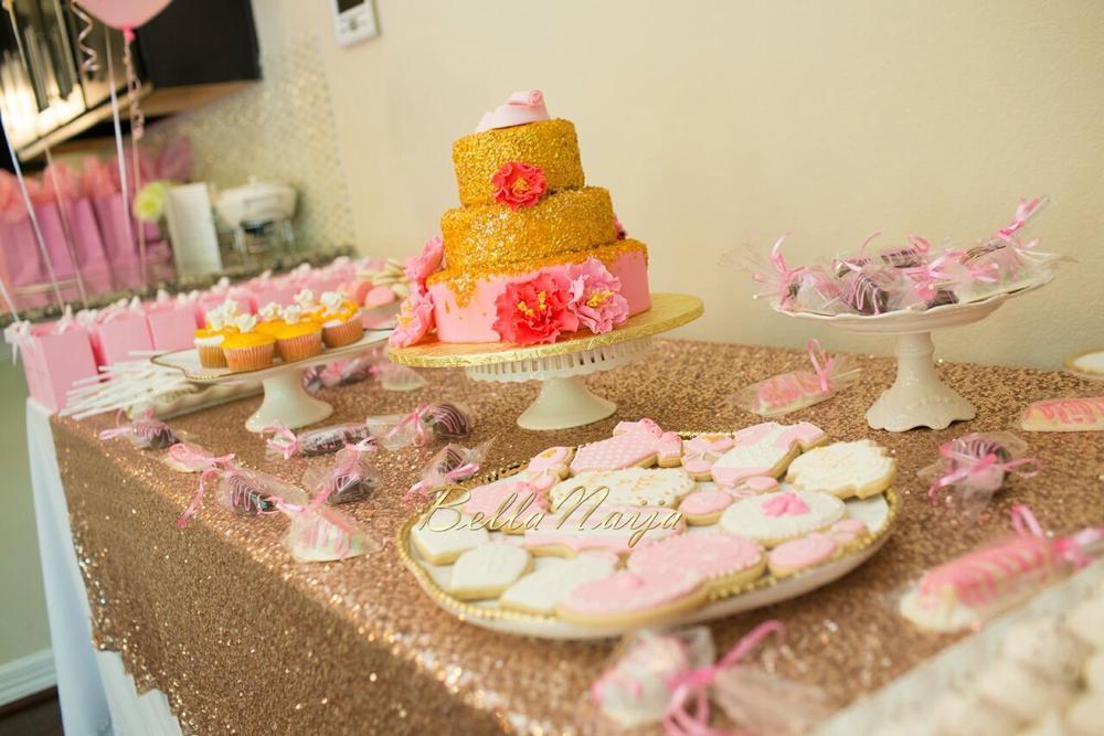 Chisom & Chete's Baby SHower for Kayla Nwoko- Pink and Gold Girl Baby Shower in Houston- BellaNaija-009