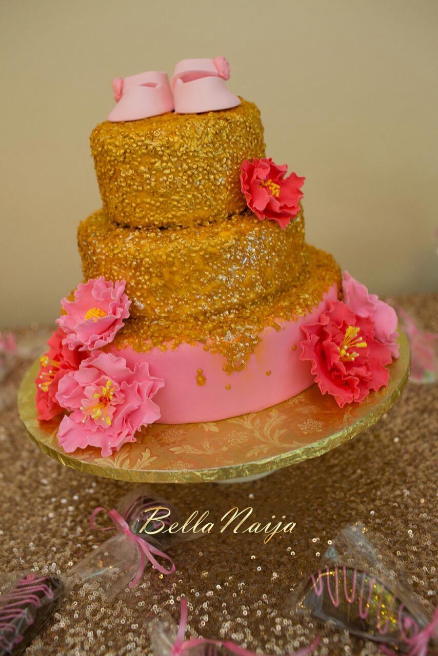 Chisom & Chete's Baby SHower for Kayla Nwoko- Pink and Gold Girl Baby Shower in Houston- BellaNaija-019