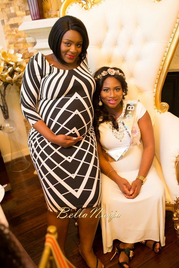 Chisom & Chete's Baby SHower for Kayla Nwoko- Pink and Gold Girl Baby Shower in Houston- BellaNaija-030