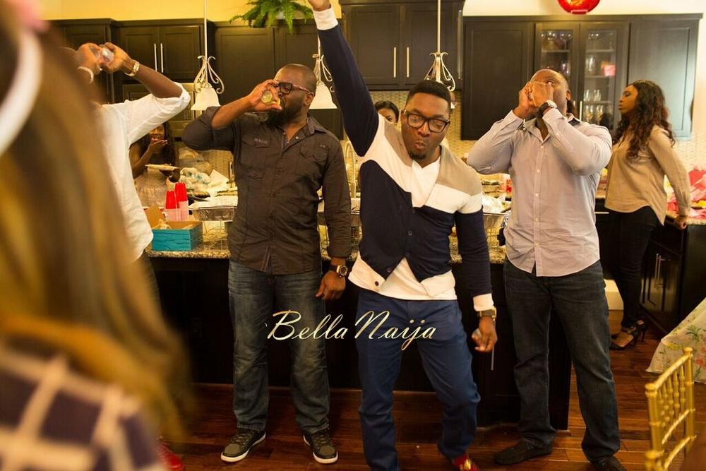 Chisom & Chete's Baby SHower for Kayla Nwoko- Pink and Gold Girl Baby Shower in Houston- BellaNaija-032