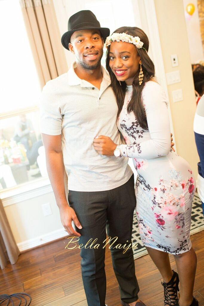 Chisom & Chete's Baby SHower for Kayla Nwoko- Pink and Gold Girl Baby Shower in Houston- BellaNaija-036