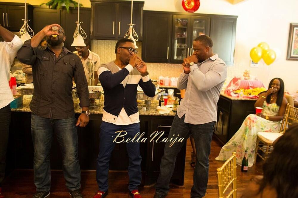 Chisom & Chete's Baby SHower for Kayla Nwoko- Pink and Gold Girl Baby Shower in Houston- BellaNaija-046