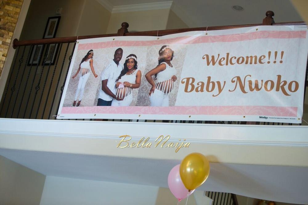 Chisom & Chete's Baby SHower for Kayla Nwoko- Pink and Gold Girl Baby Shower in Houston- BellaNaija-057
