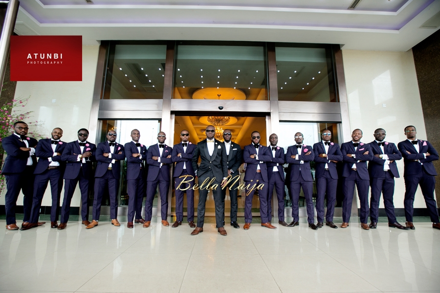 Coscharis Cosmas Maduka Junior and Temitope Odutola Wedding on BellaNaija-groomsmenSWAG2-Atunbi Photography - Zapphaire Events- July 2015