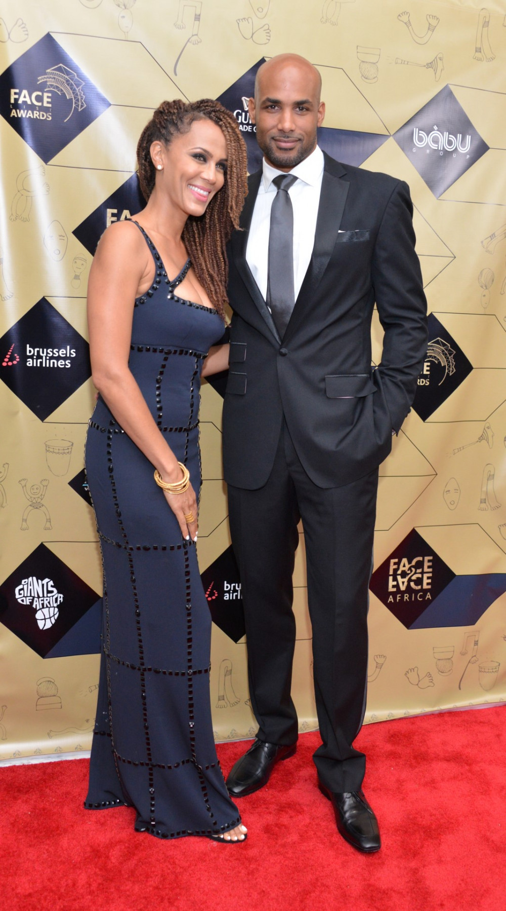 Nicole Ari Parker & Boris Kodjoe