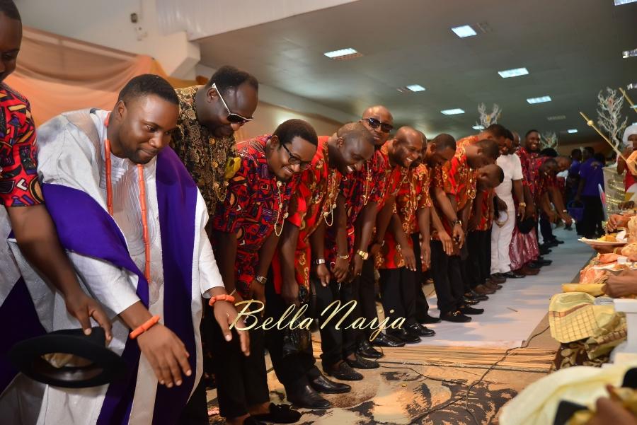 Folashade & Teina Yoruba & Ijaw Nigerian Wedding in Lagos - AkinTayoTimi - BellaNaija 2015 -13