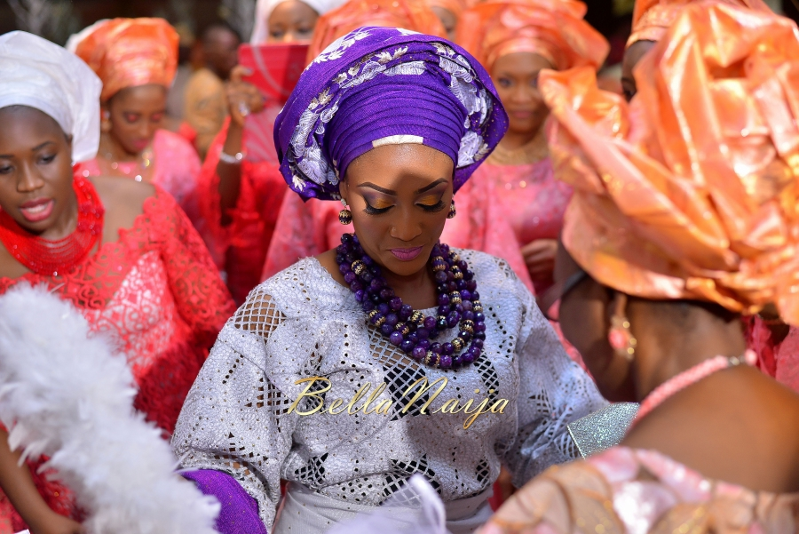 Folashade & Teina Yoruba & Ijaw Nigerian Wedding in Lagos - AkinTayoTimi - BellaNaija 2015 -16